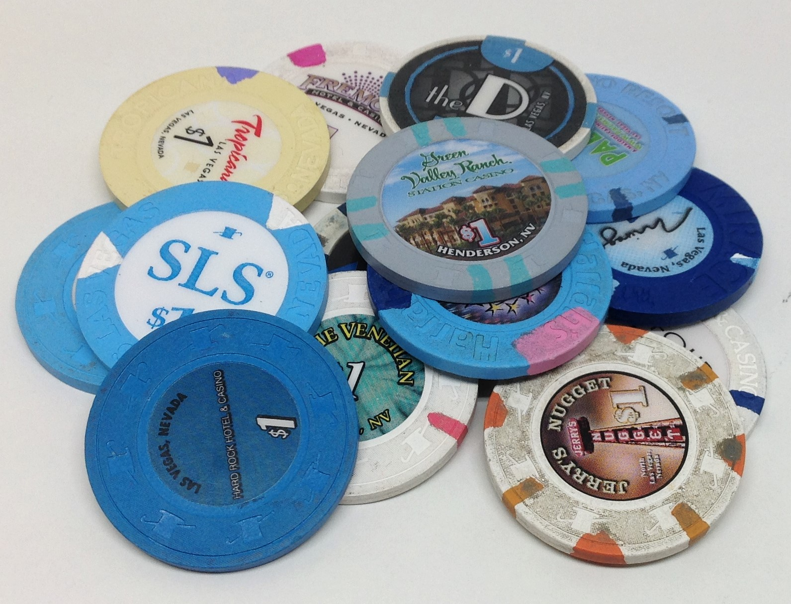 casino chip collector