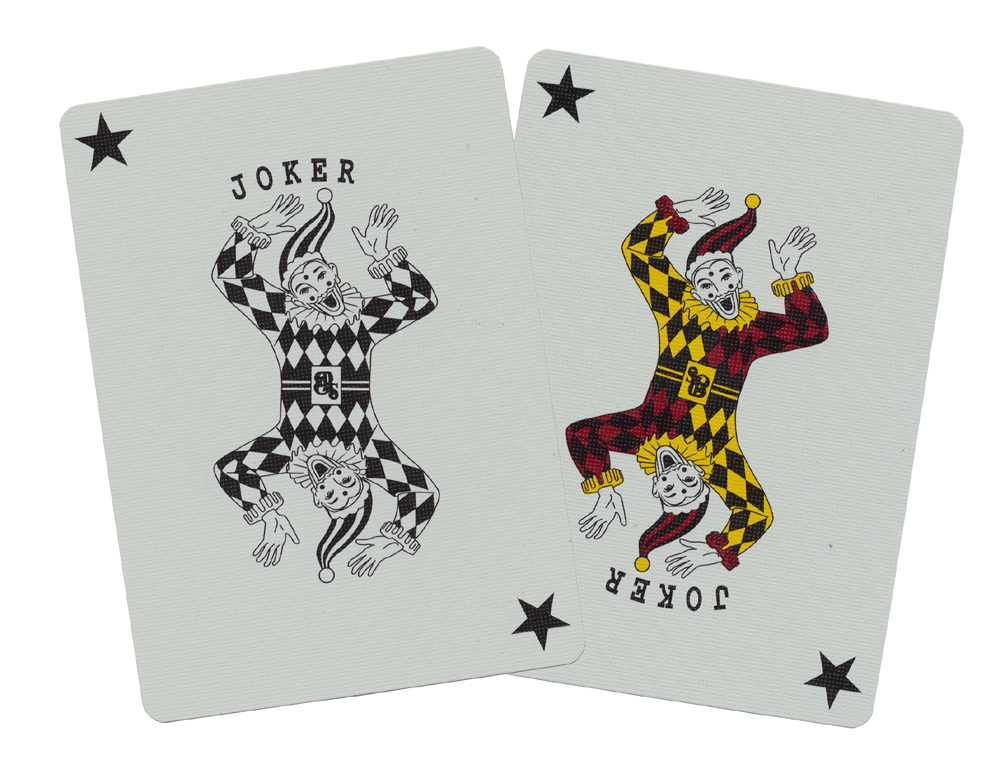 Which playing cards do casinos use